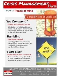 Crisis Management Prep Handout