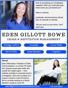 Eden Gillott Bowe