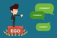 Cut the ego. Be sincere.